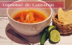 Cómo cocinar Consome de Camarón (Gambas)