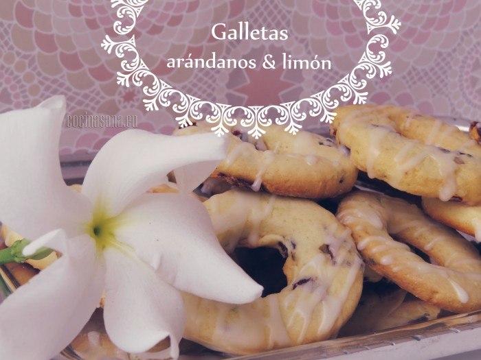 Galletas de Arándano y Limón