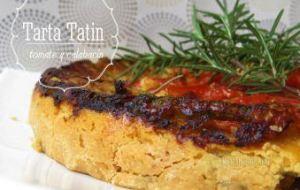 Tarta tatin de Tomate, Calabacines y Queso. Explicada paso a paso