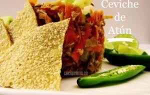 Ceviche de Atún en conserva: Receta fácil