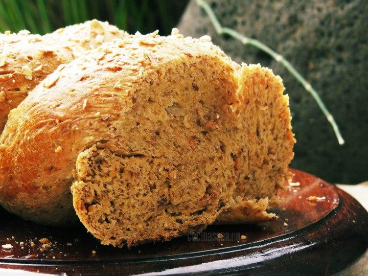 Pan elaborado con centeno, suave y esponjoso