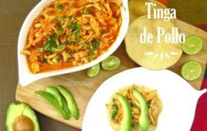 Tinga de Pollo : Video con receta paso a paso