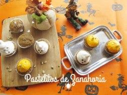 Pastelitos de Zanahoria para Halloween