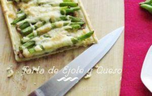 Tartaleta de Ejotes (Judías Verdes) y Queso manchego
