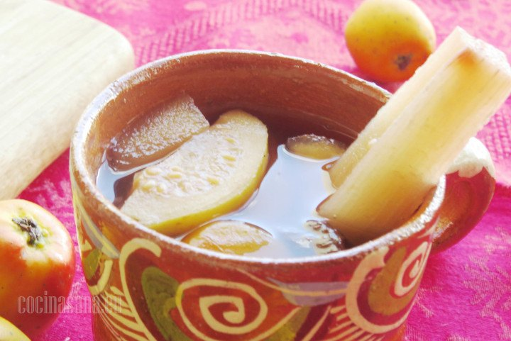Ponche Navideño de Frutas especial para las posadas y navidad