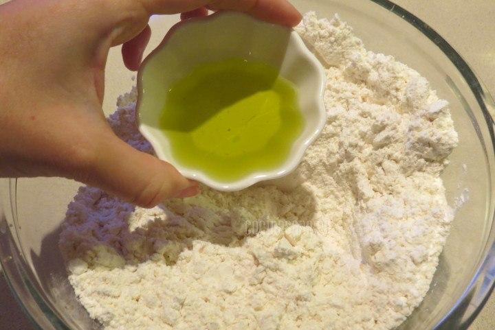 Agregar el Aceite de Oliva a la preparación