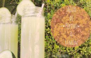 Agua de Pepino para Adelgazar