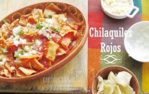 Chilaquiles Rojos: Receta fácil mexicana