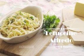 Fettuccine Alfredo - Receta original paso a paso con Video