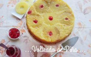 Pastel Volteado de Piña: receta Rápida y Fácil