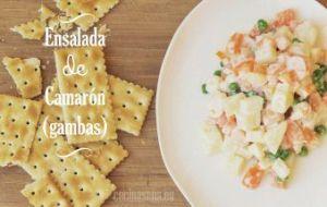 Ensalada de Camarones: receta fácil de preparar
