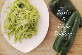 Pasta con Salsa de Chile Poblano: Fusión de cocina italiana y mexicana