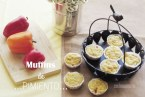 Muffins salados de Pimientos y Queso: Receta con vídeo