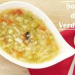 Sopa Elaborada con Verduras