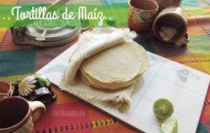 Cómo hacer Tortillas de Maíz a mano