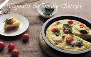 Clafoutis de Tomate Cherry: Receta