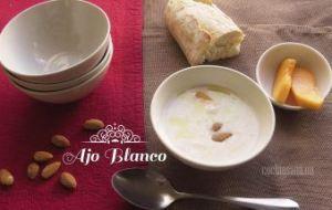 Ajo Blanco en su receta tradicional española