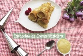 Caracolas de Hojaldre Rellenas de Crema pastelera