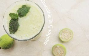 Cómo hacer un Smoothie de Guayaba y Menta, rico en vitaminas, fibra y minerales