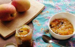 Chutney de Mango. Receta fácil con vídeo