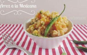 Arroz a la mexicana: Receta tradicional