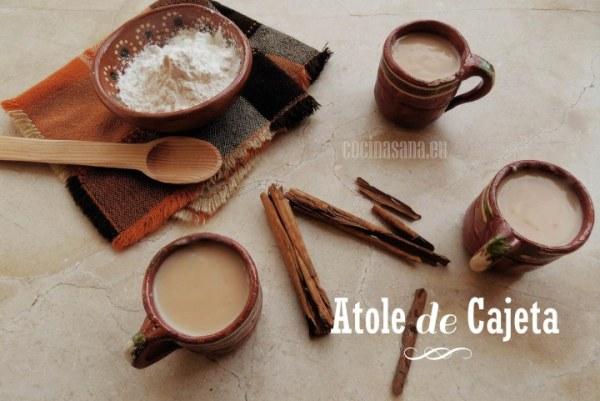 Atole de Cajeta