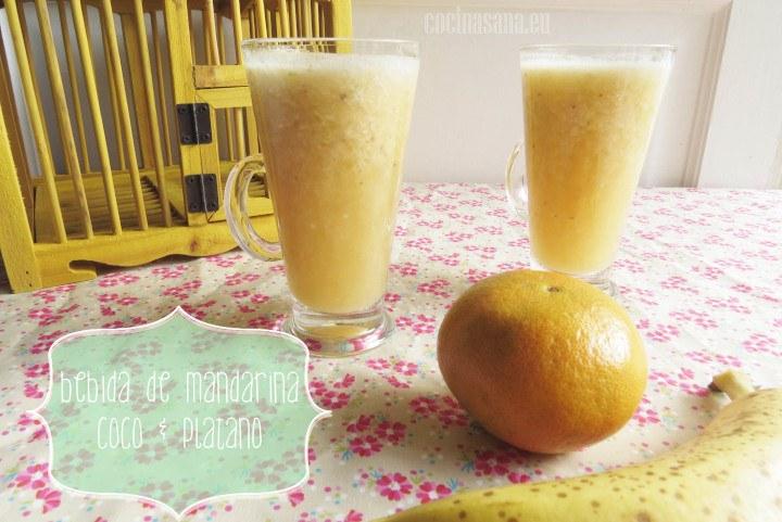 Bebida de mandarin