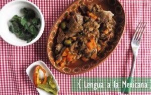 Lengua de Cerdo a la Mexicana: receta tradicional