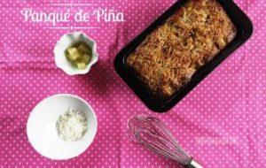 Panqué de Piña y Coco: receta casera fácil