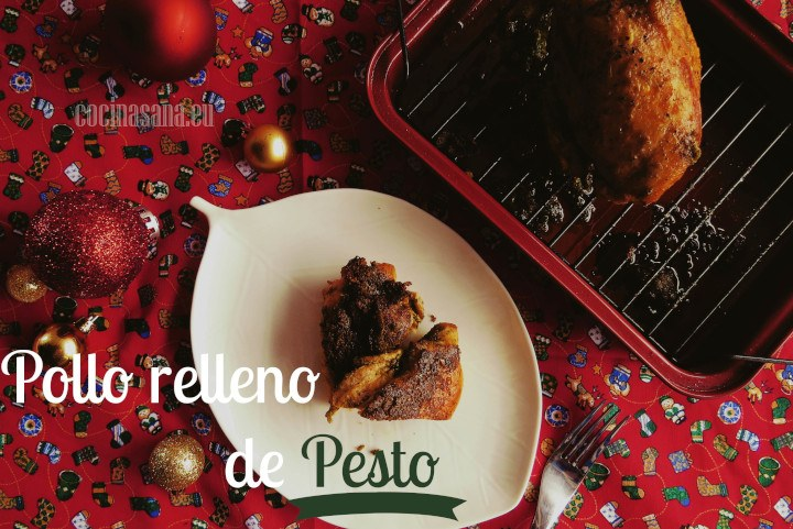 Pollo Relleno de Pesto