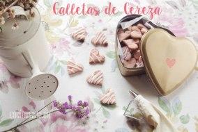 Galletas de Cereza para el Día del Amor y la Amistad