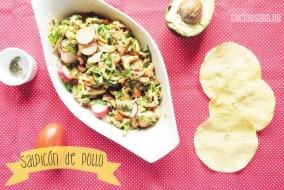 Salpicón de Pollo - Receta fácil de preparar