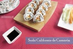 Sushi California de Camarón o Gambas: fusionando Ingredientes y Sabores