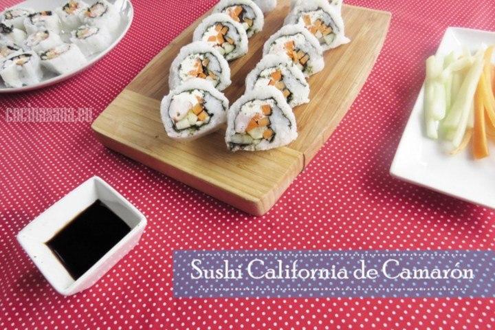 Sushi de Camarón