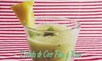 Bebida Piña Coco y Kiwi