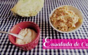 Ensalada Fresca de Col y Zanahoria