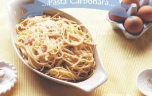 Pasta Carbonara: receta original y muy fácil de preparar
