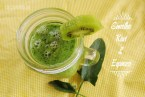 Smoothie de Kiwi y Espinacas: rico vitamina C, potasio y hierro