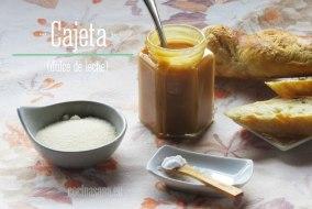 Como preparar Cajeta Casera o Dulce de Leche