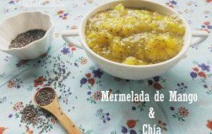 Mermelada de Mango con Chía: Receta casera con poco azúcar