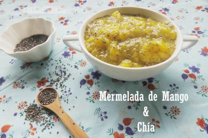 Mermelada de mango y chía, mermelada casera light