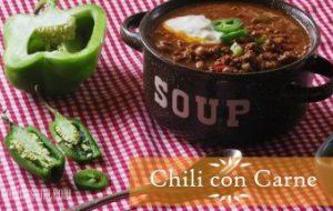 Chili con Carne: Receta tex mex original