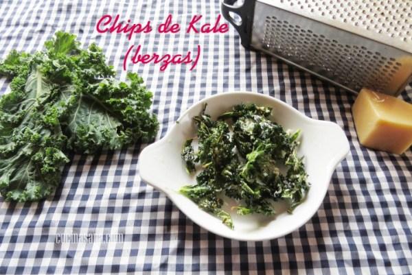 Chips de Kale o Frituras de Berza