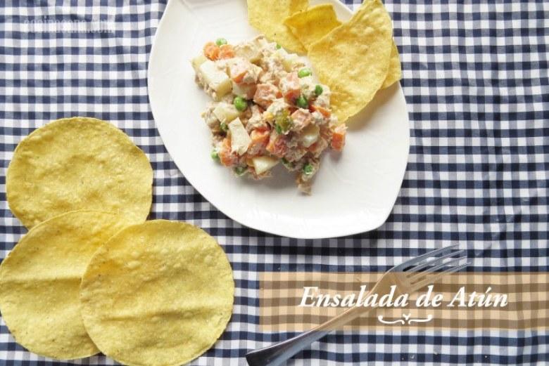receta rápida de ensalada de atún