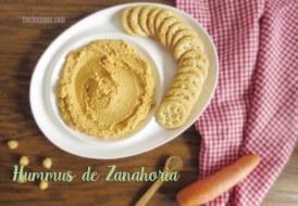 Hummus con Zanahoria: Receta creativa, barata y fácil. El snack perfecto
