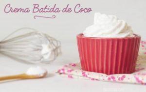 Cómo hacer Crema Batida de Leche de Coco: Receta Sin Lácteos