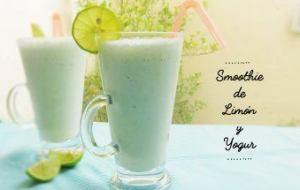 Smoothie de Yogur con Limón y Hierbabuena: Receta fácil para hacer en casa