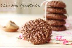 galletas de chocolate sin gluten ni huevo