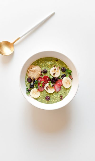 OVER NIGHT OATS O AVENA FRÍA DE MATCHA