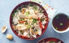 Arroz-al-vapor-con-almeja-y-pescado